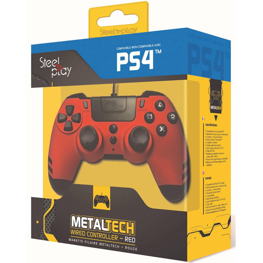 Steelplay MetalTech controller - rood