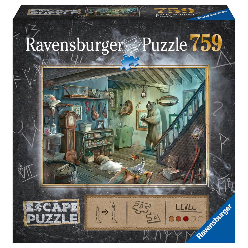 Ravensburger puzzel Escape 8 griezelkelder - 759 stukjes