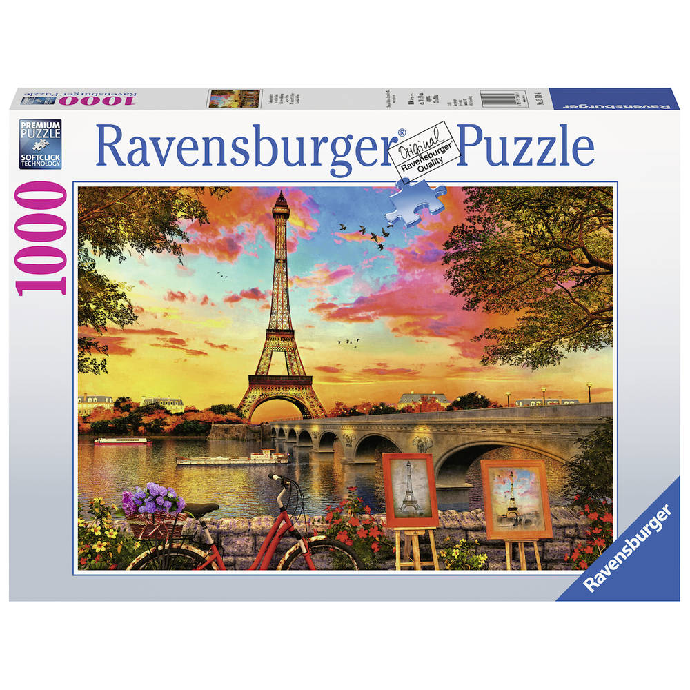 Ravensburger puzzel Parijs - 1000 stukjes