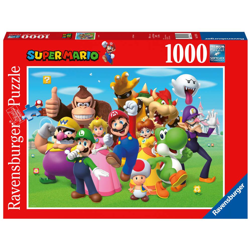 Ravensburger puzzel Super Mario - 1000 stukjes
