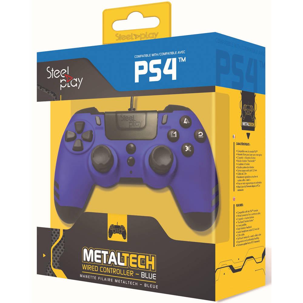 Steelplay MetalTech controller - blauw