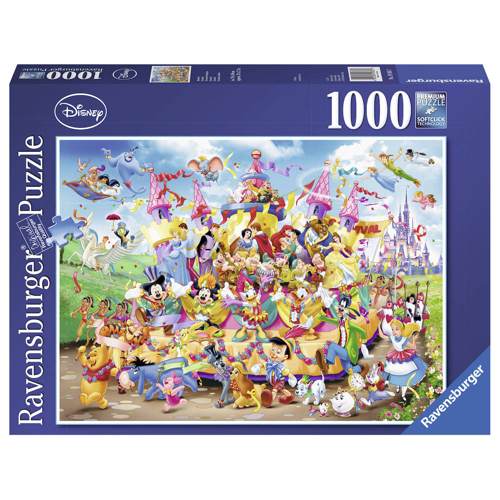 Ravensburger puzzel Disney Carnival - 1000 stukjes