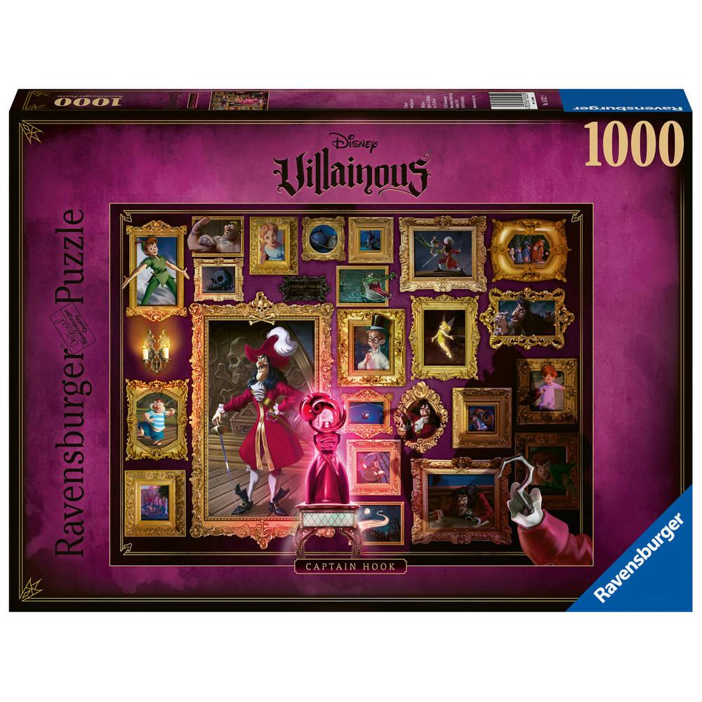 Ravensburger puzzel Villainous Captain Hook - 1000 stukjes