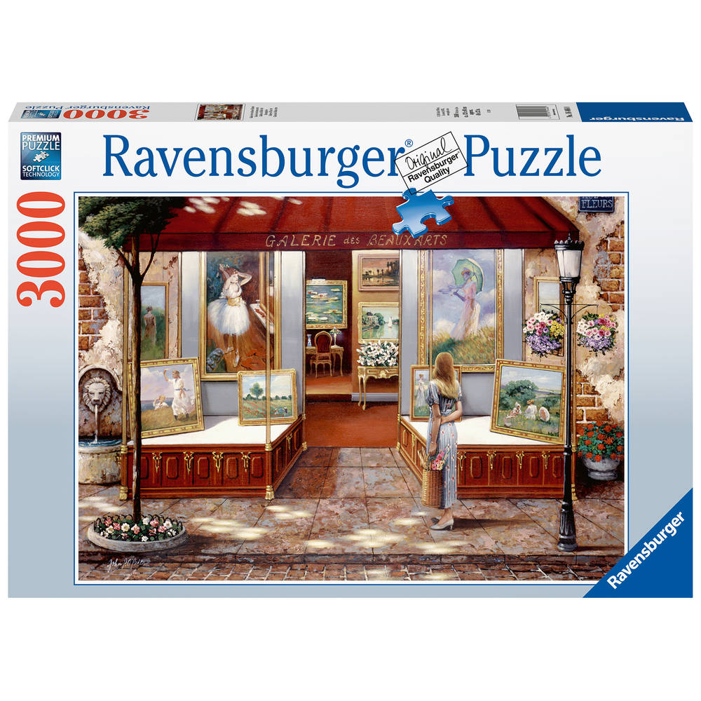Ravensburger puzzel kunstgalerie - 3000 stukjes
