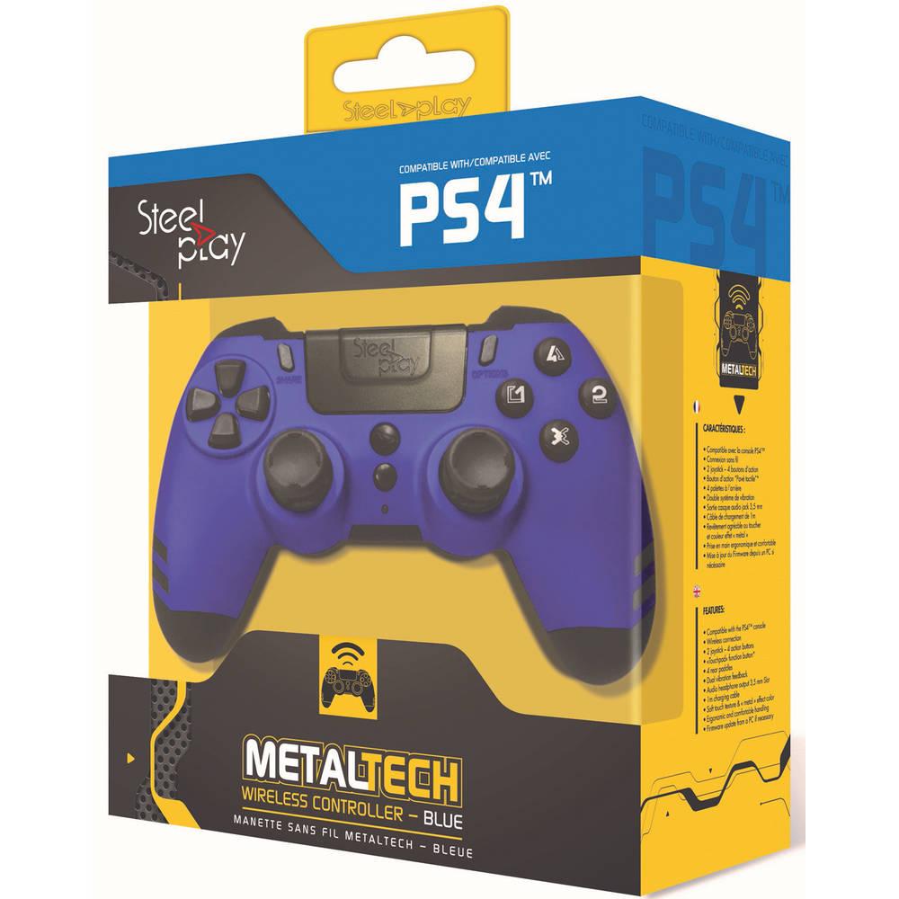 Steelplay MetalTech draadloze controller - blauw