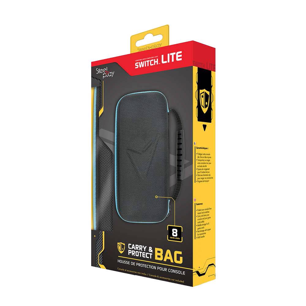 Nintendo Switch Lite Steelplay beschermhoes - zwart