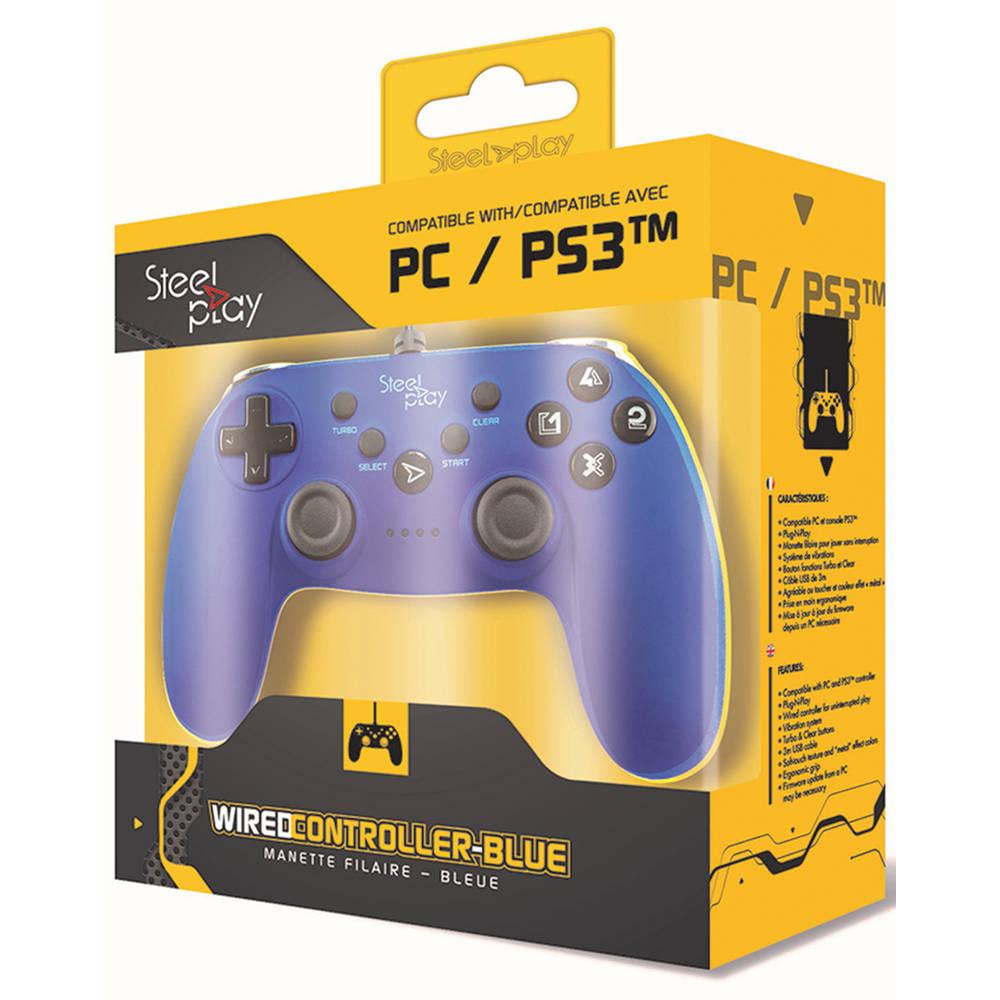 Steelplay controller - blauw