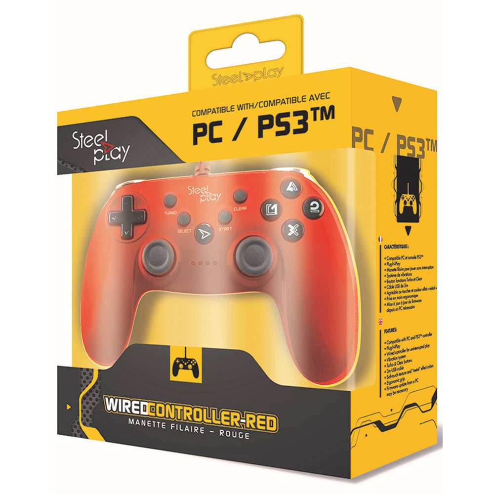 Steelplay controller - rood