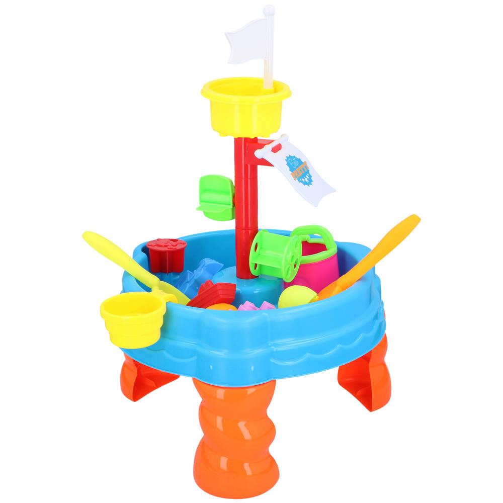 Zand- en watertafel + accessoires