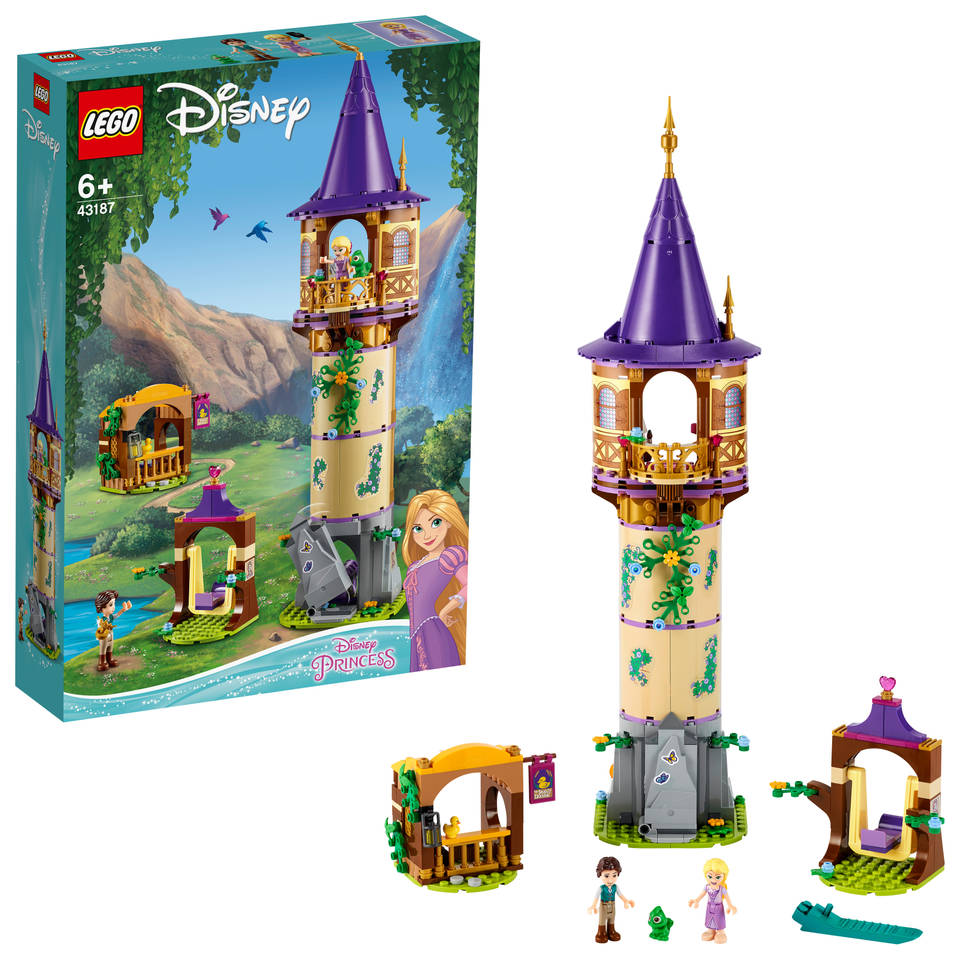 LEGO Disney Princess Rapunzel's toren 43187