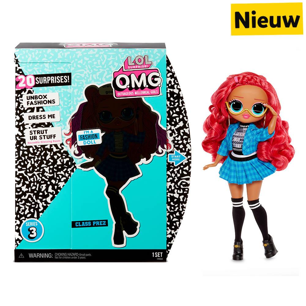 L.O.L. Surprise! OMG modepop serie 3 Class Prez