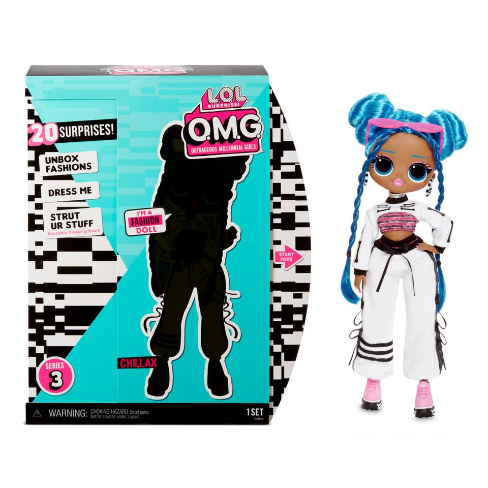 L.O.L. Surprise! O.M.G. modepop serie 3 Chillax