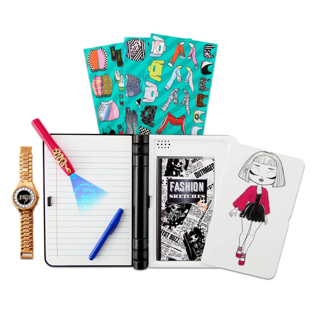 L.O.L. Surprise! OMG modedagboek - elektronisch dagboek met wachtwoord en horloge