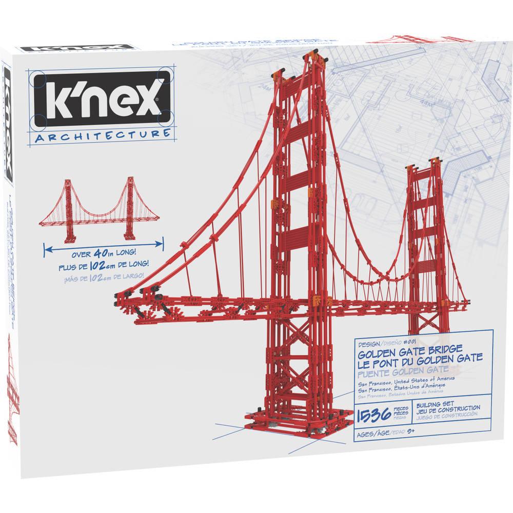 K'NEX Architecture Golden Gate Bridge bouwset