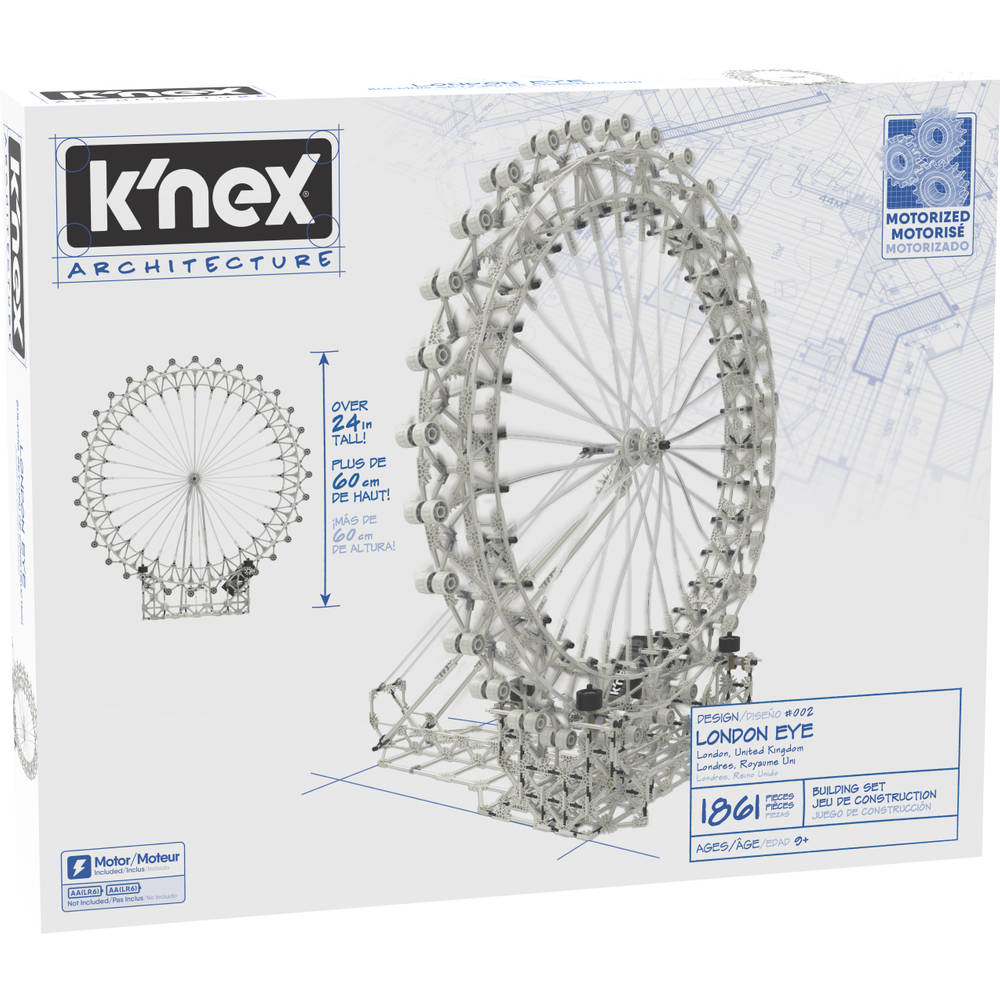K'NEX Architecture London Eye bouwset