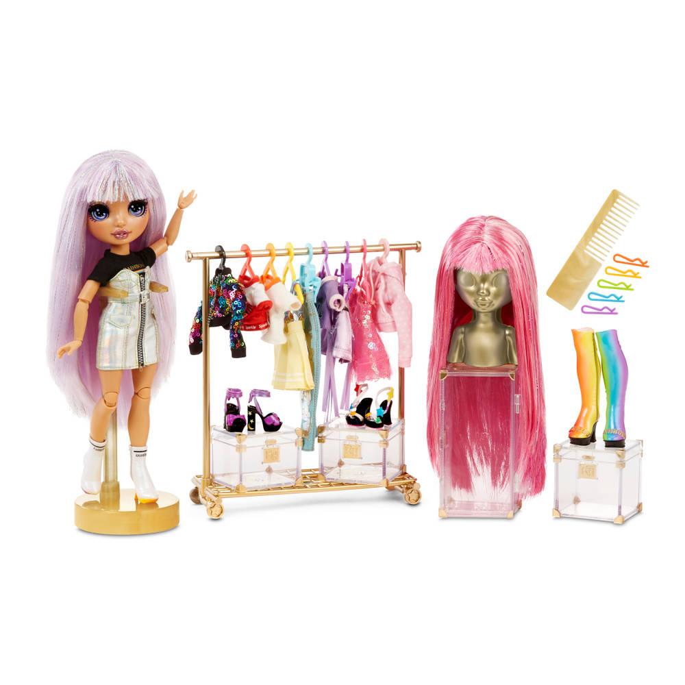 Rainbow High fashion studio set