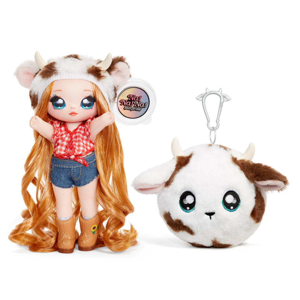 Na! Na! Na! Surprise! 2-in-1 pom pop AnnaBelle Moooshe