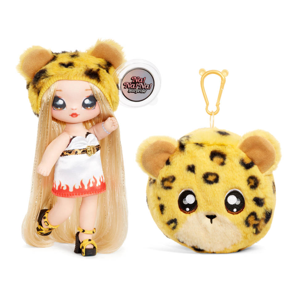 Na! Na! Na! Surprise! 2-in-1 pom pop Jennel Jaguar