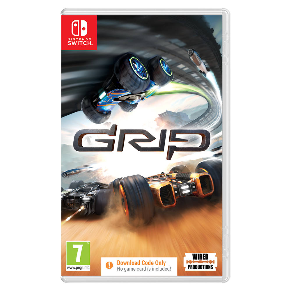 Nintendo Switch GRIP - code in a box