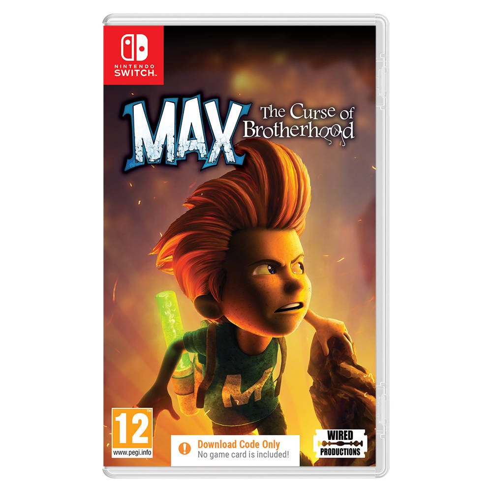 Nintendo Switch Max: The Curse of Brotherhood - code in a box