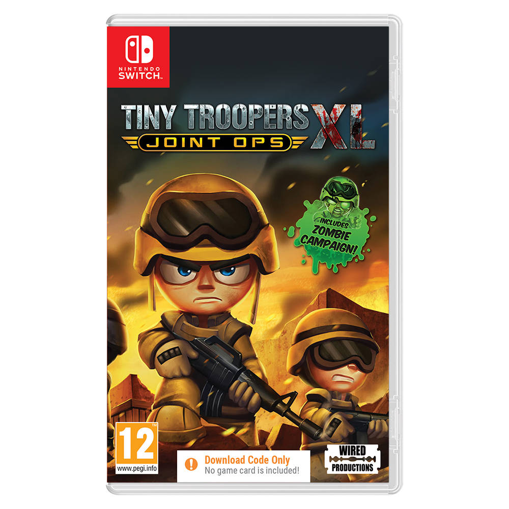Nintendo Switch Tiny Troopers Joint Ops XL - code in a box