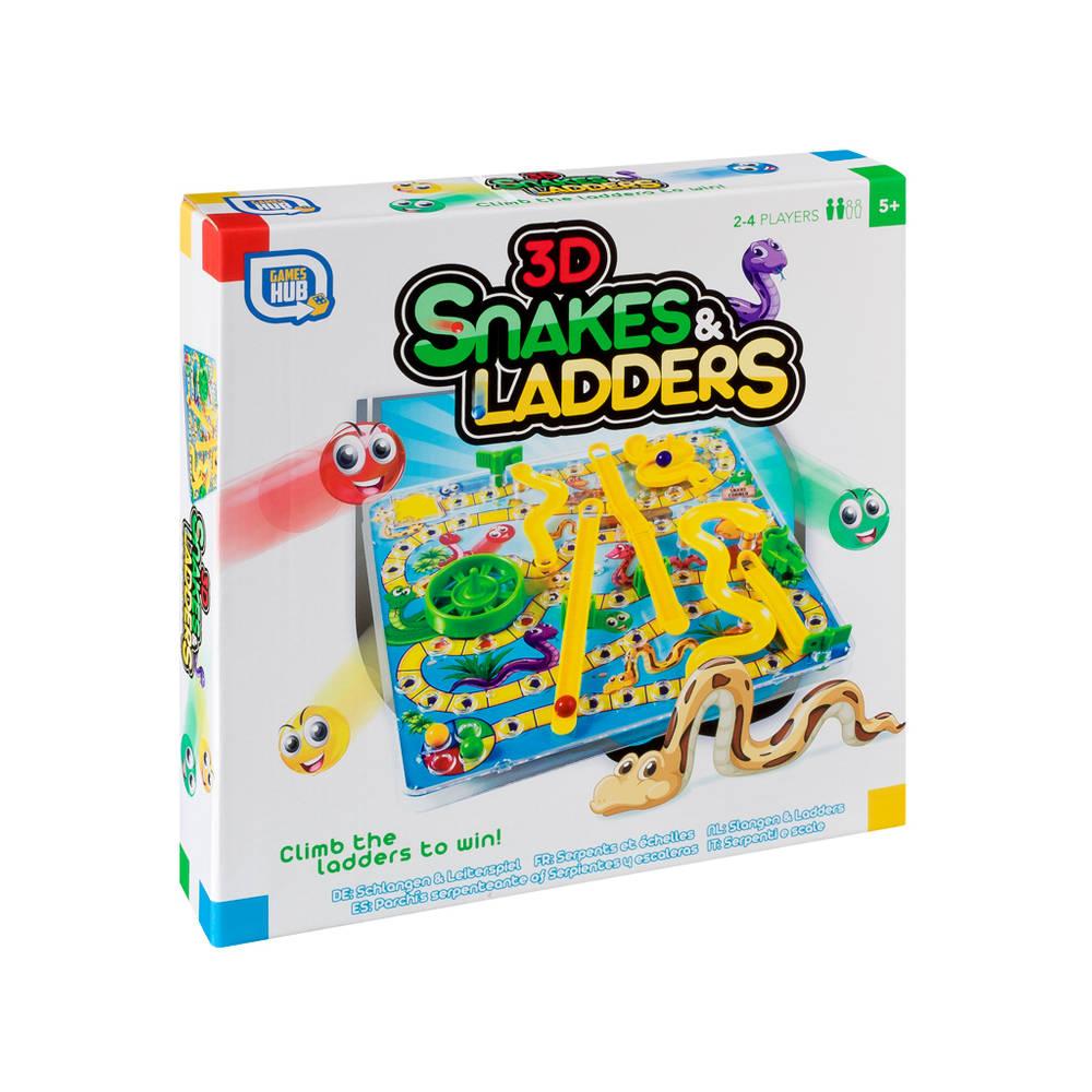 Slangen en ladders 3D