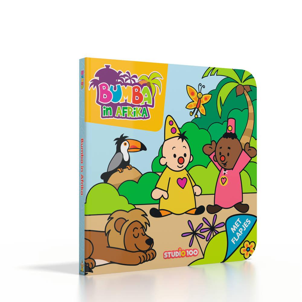Bumba kartonboek Bumba in Afrika