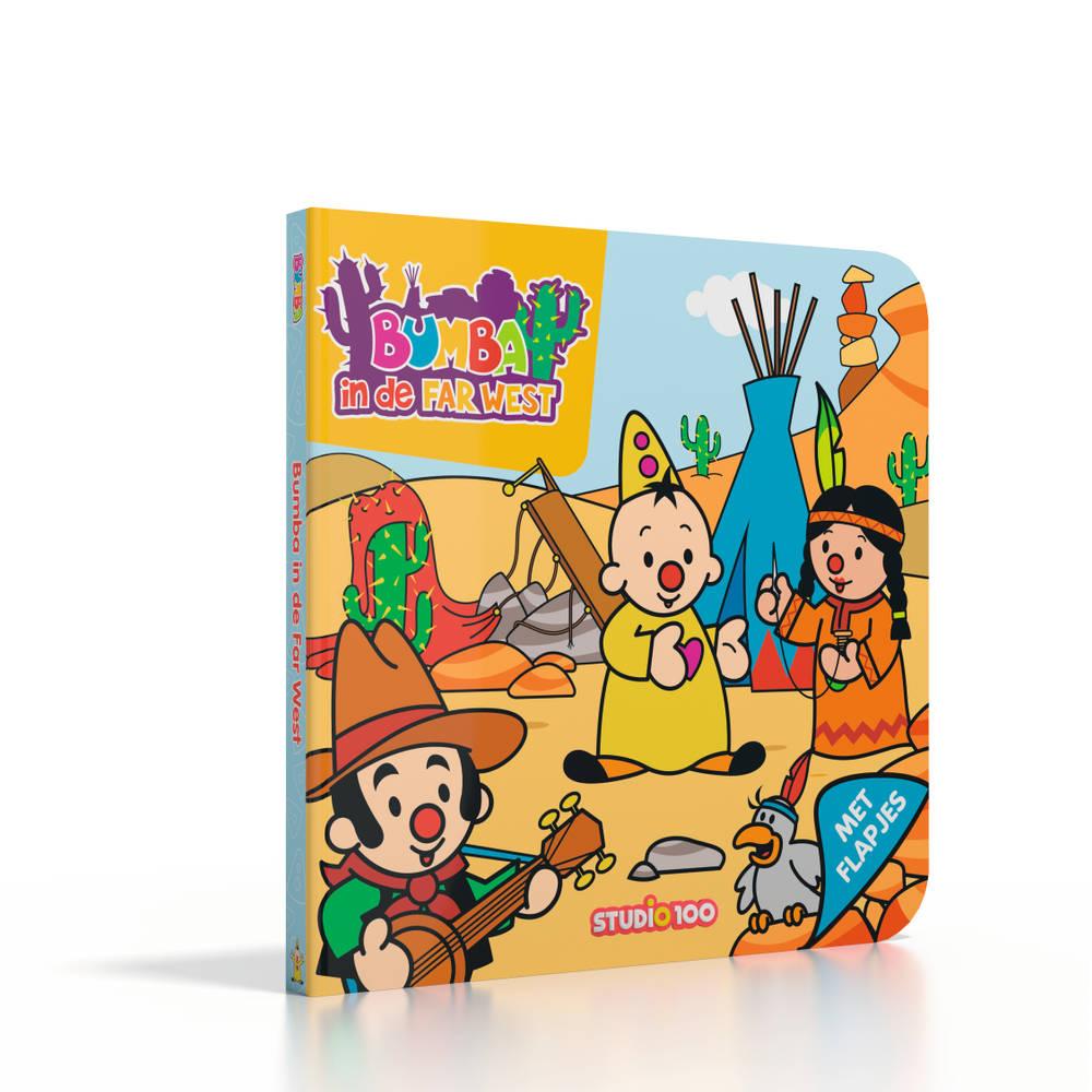 Bumba kartonboek Bumba in de Far West