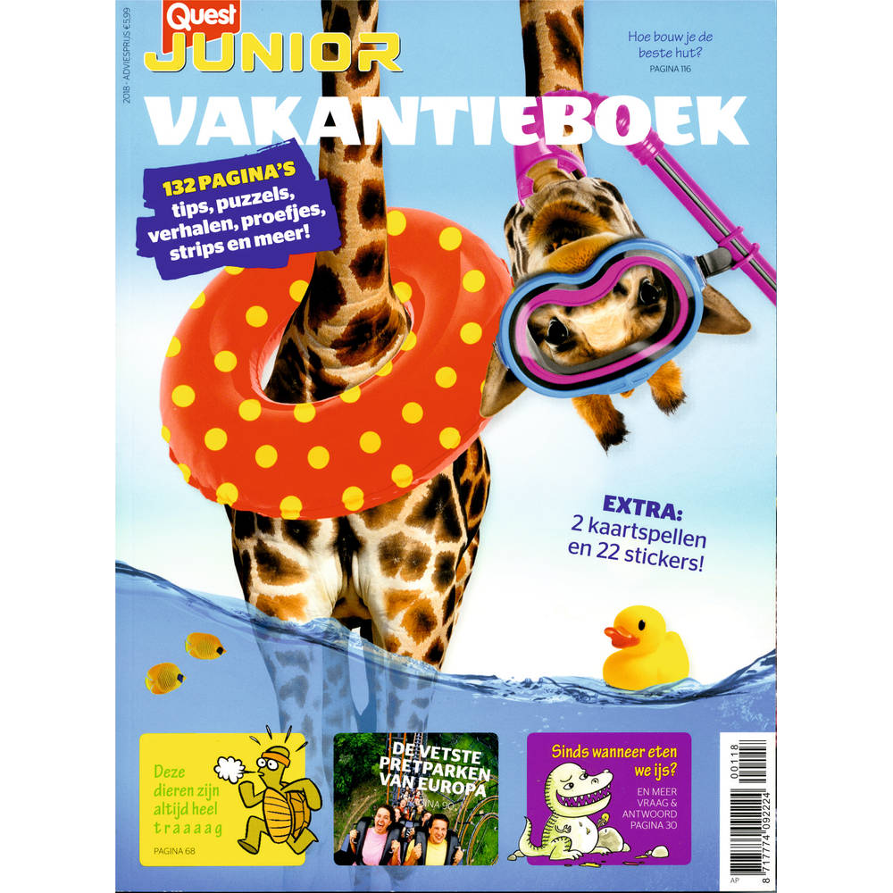 Quest Junior vakantieboek
