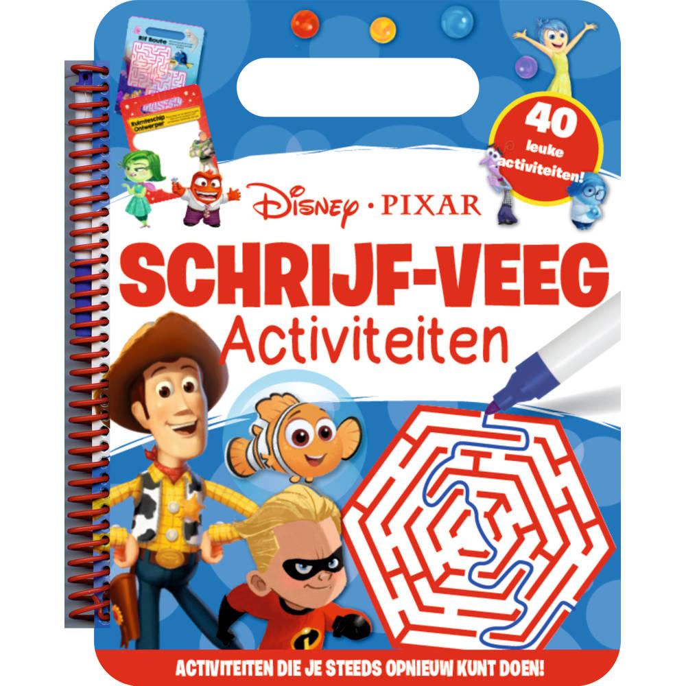 Walt Disney schrijf en veeg activiteitenboek pixar