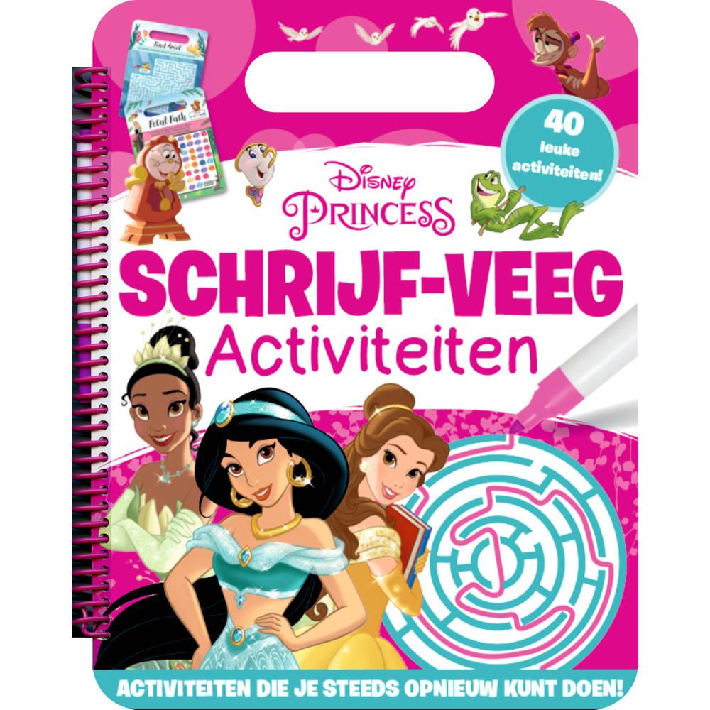 Walt Disney schrijf en veeg activiteitenboek prinses
