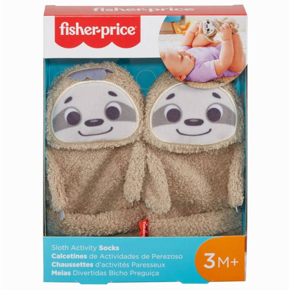 Fisher-Price luiaard sokken