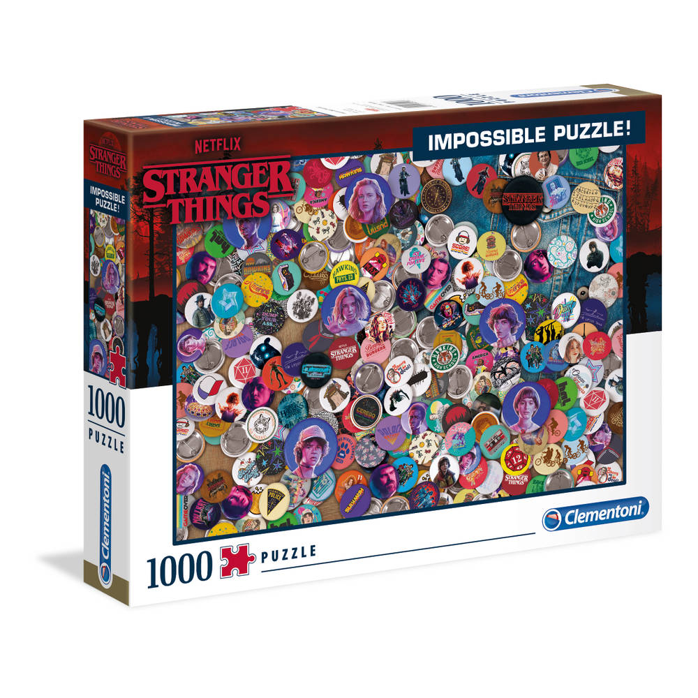 Clementoni Impossible puzzel Stranger Things - 1000 stukjes