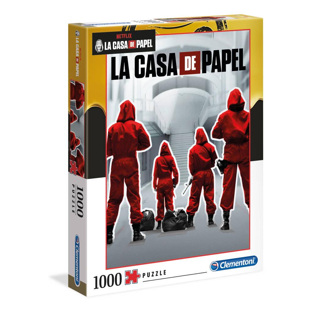 Clementoni puzzel La Casa de Papel seizoen 1 - 1000 stukjes