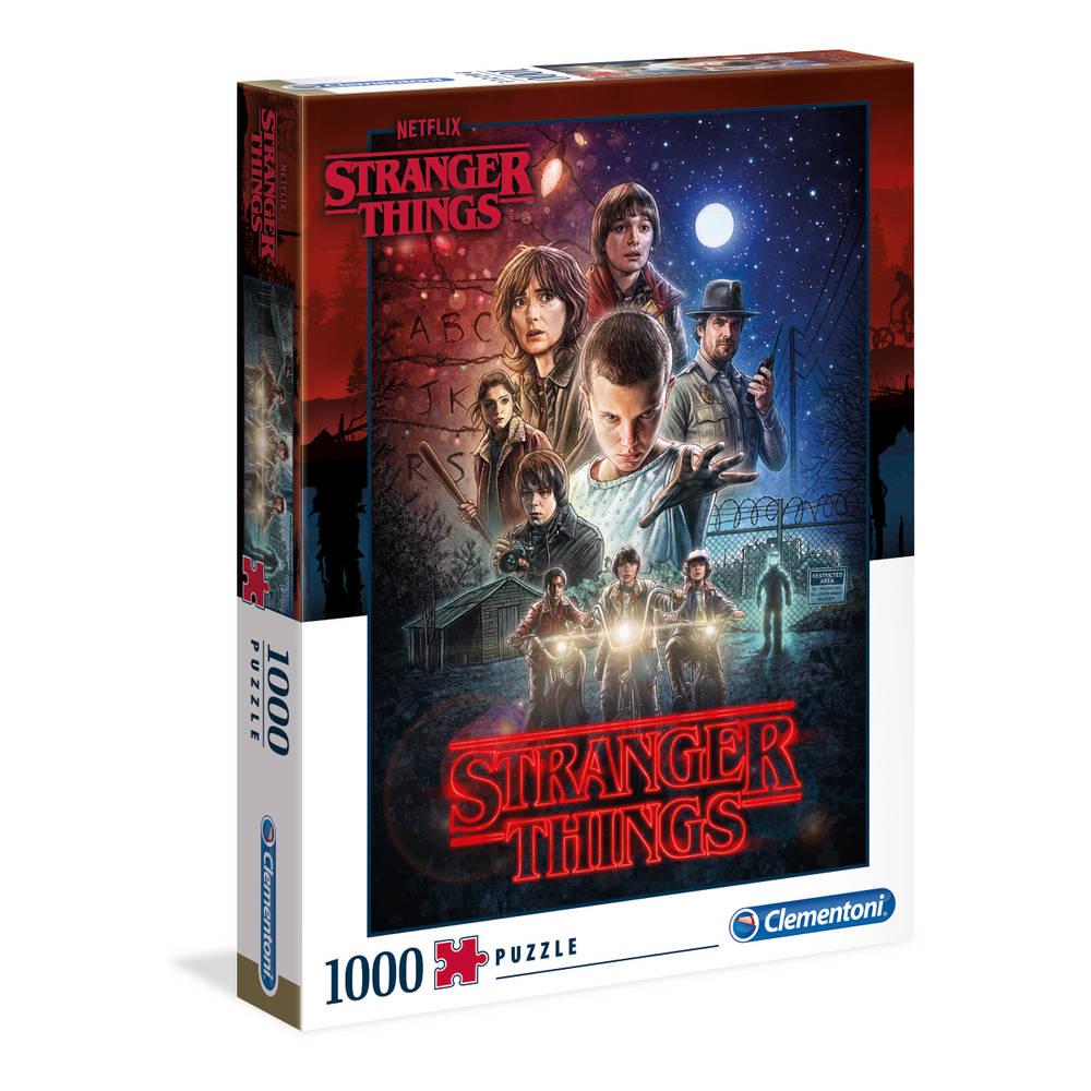 Clementoni puzzel Stranger Things seizoen 1 - 1000 stukjes