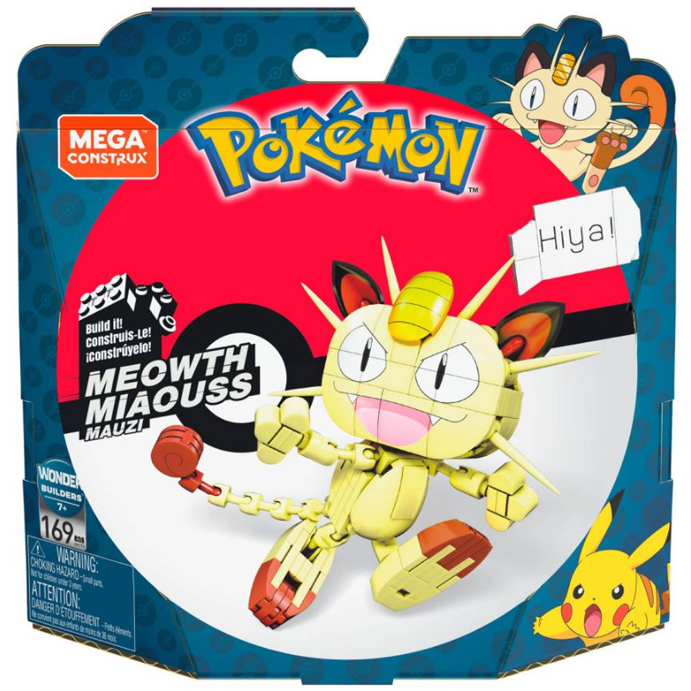 Fisher-Price Mega Construx Pokémon Meowth