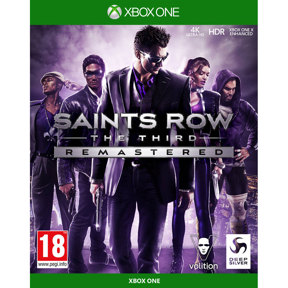Xbox One Saints Row: The Third remastered