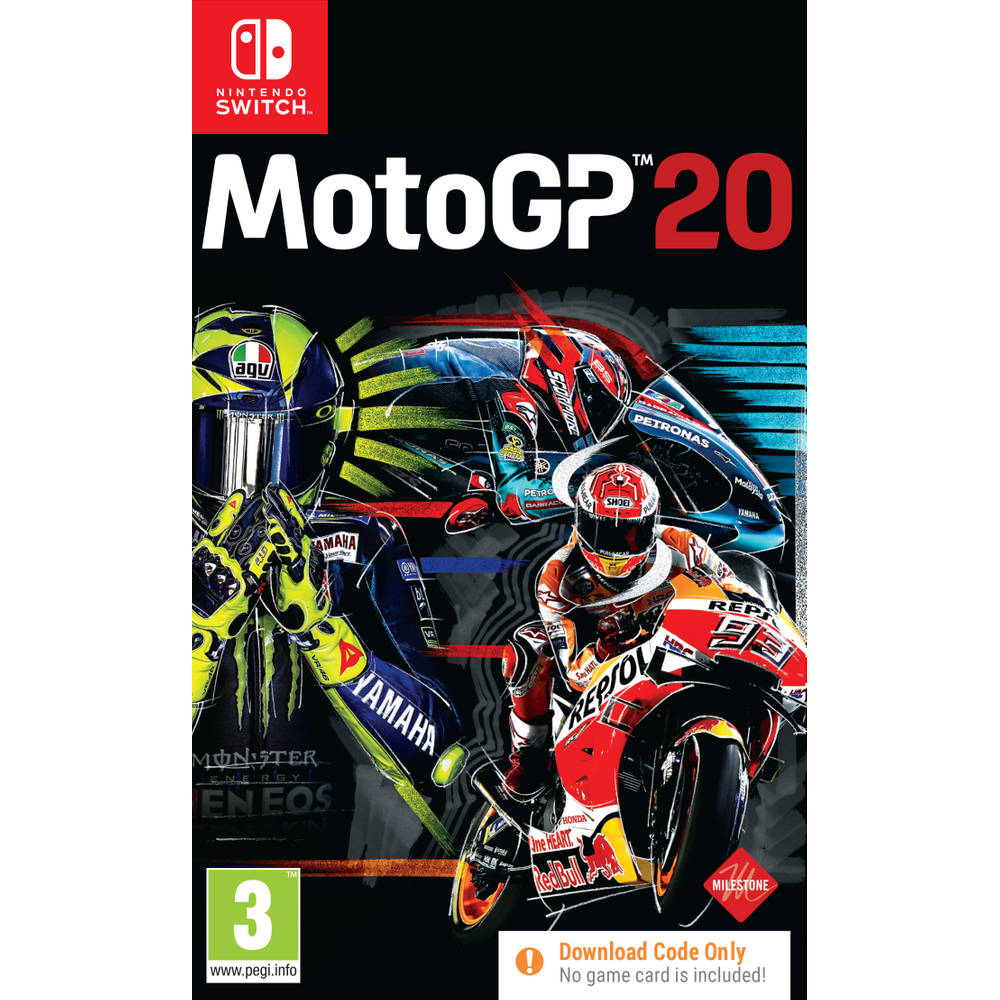 Nintendo Switch MotoGP 20 - code in a box