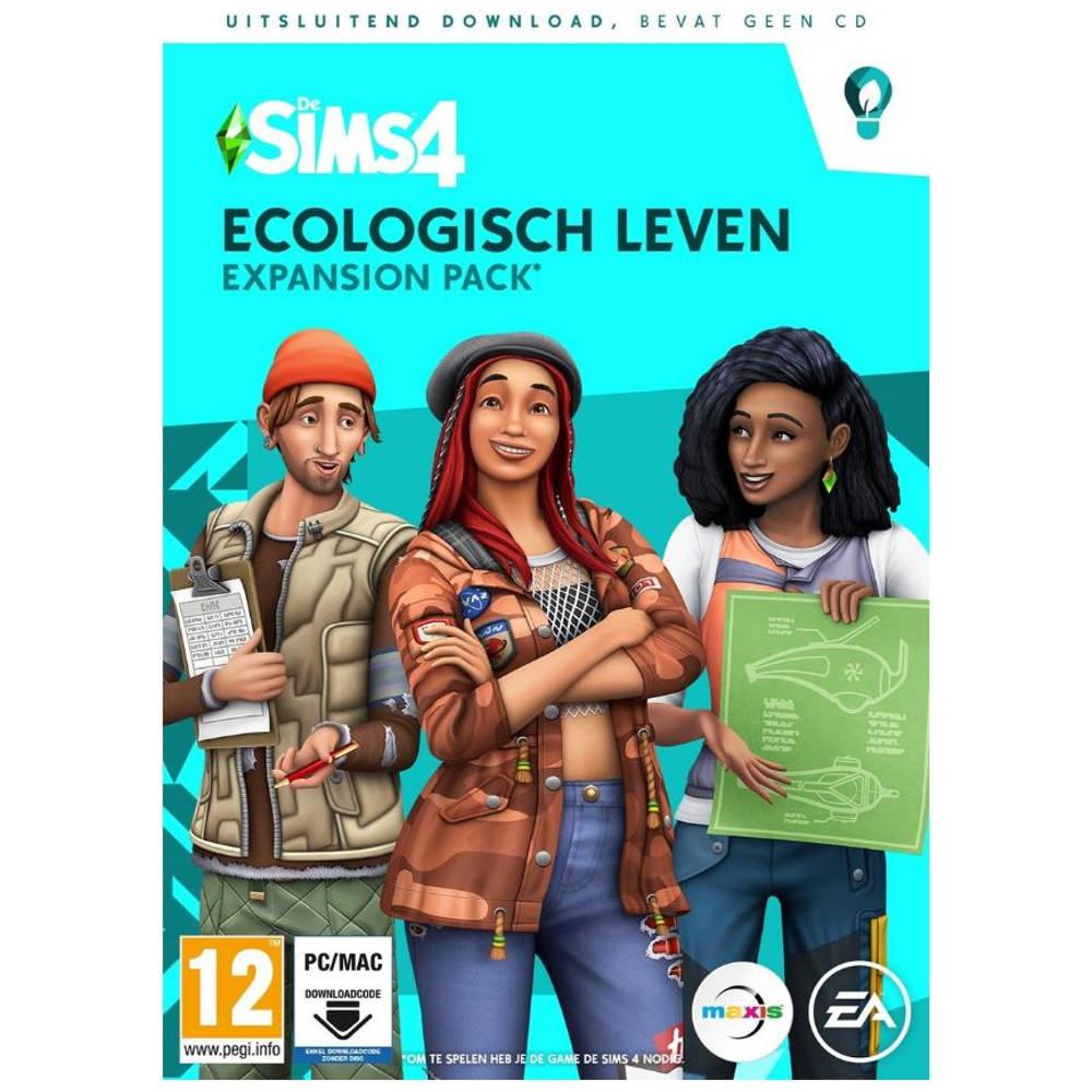 PC De Sims 4: Ecologisch leven - code in a box