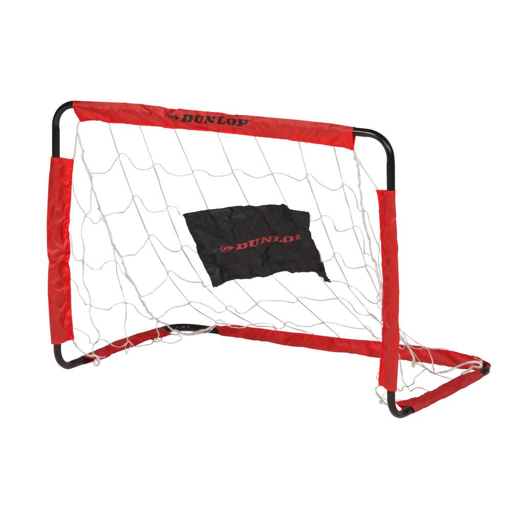 Dunlop voetbaldoel set van 2 - 78 x 56 x 45 cm
