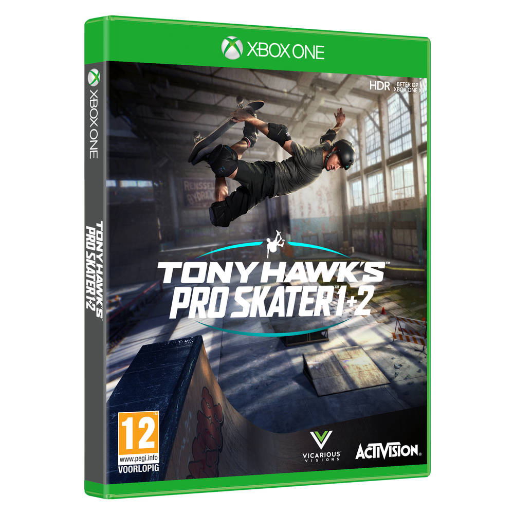 Xbox One Tony Hawk Pro Skater 1 + 2
