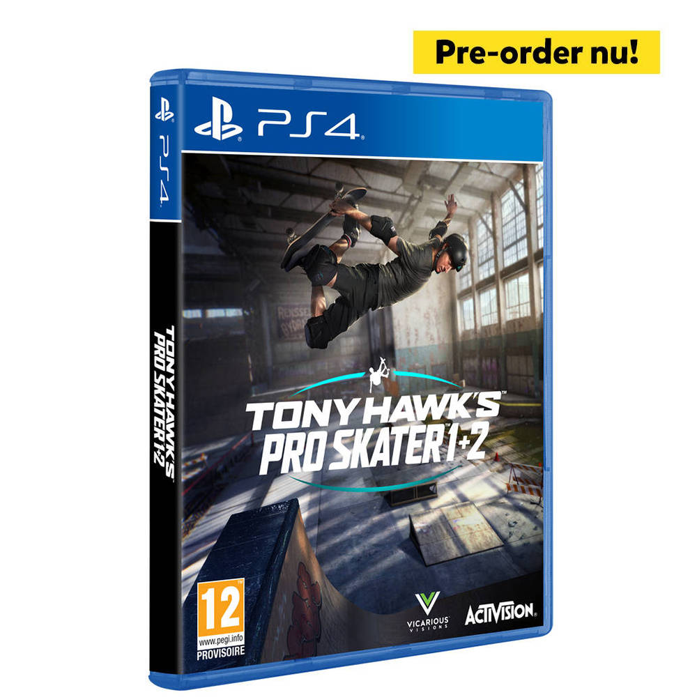 PS4 Tony Hawk Pro Skater 1 + 2