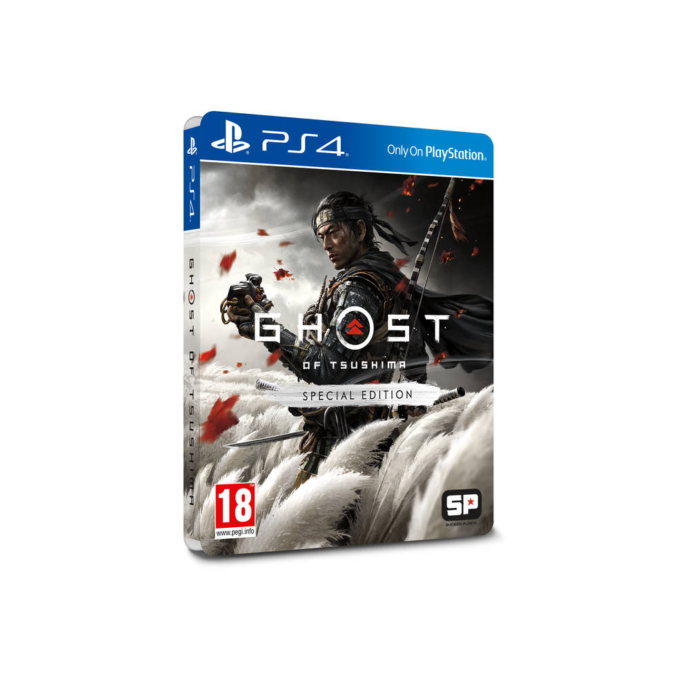PS4 Ghost of Tsushima Special Edition