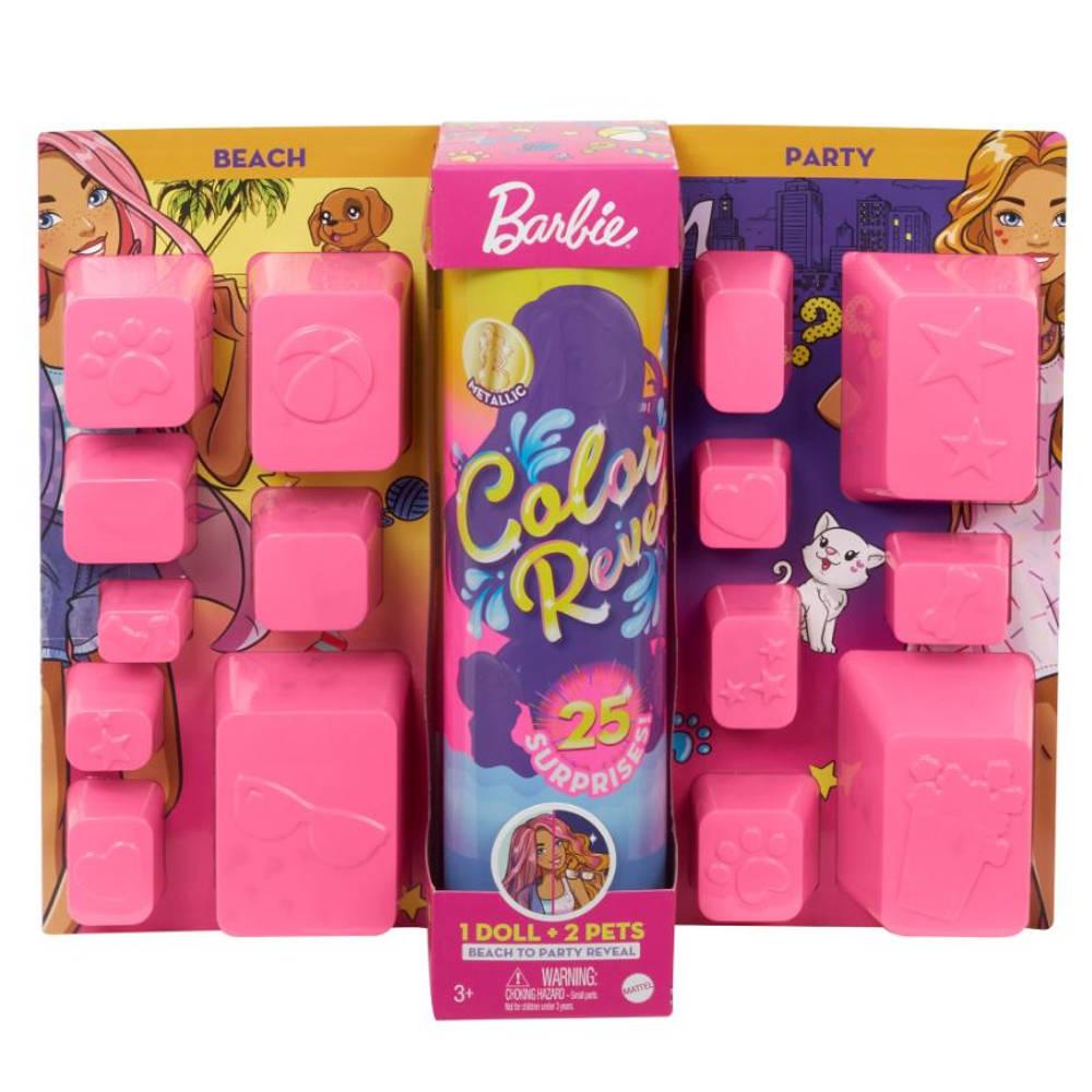 Barbie Color Reveal pop