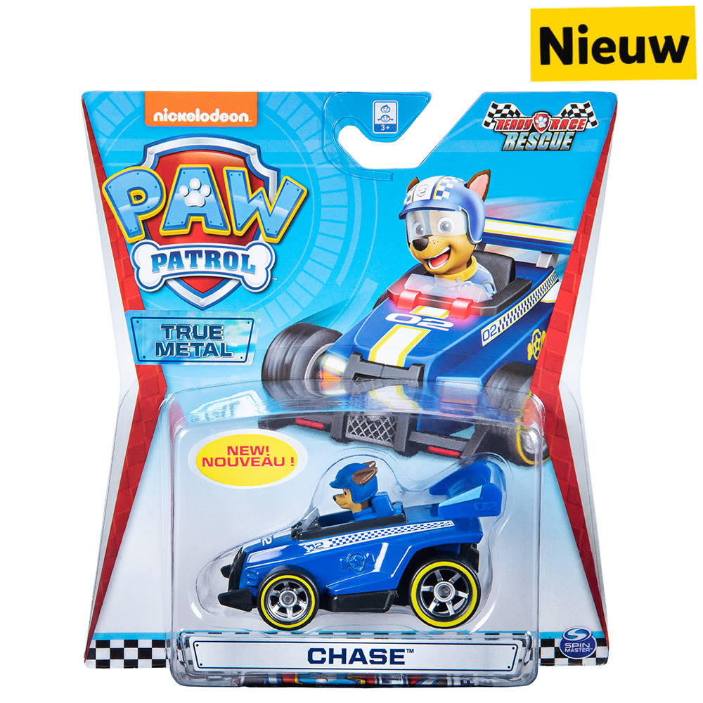 PAW Patrol Ready Race True Metal voertuig