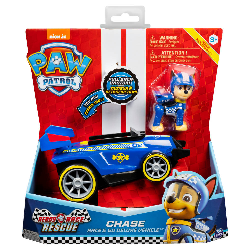 PAW Patrol Ready Race voertuig Chase