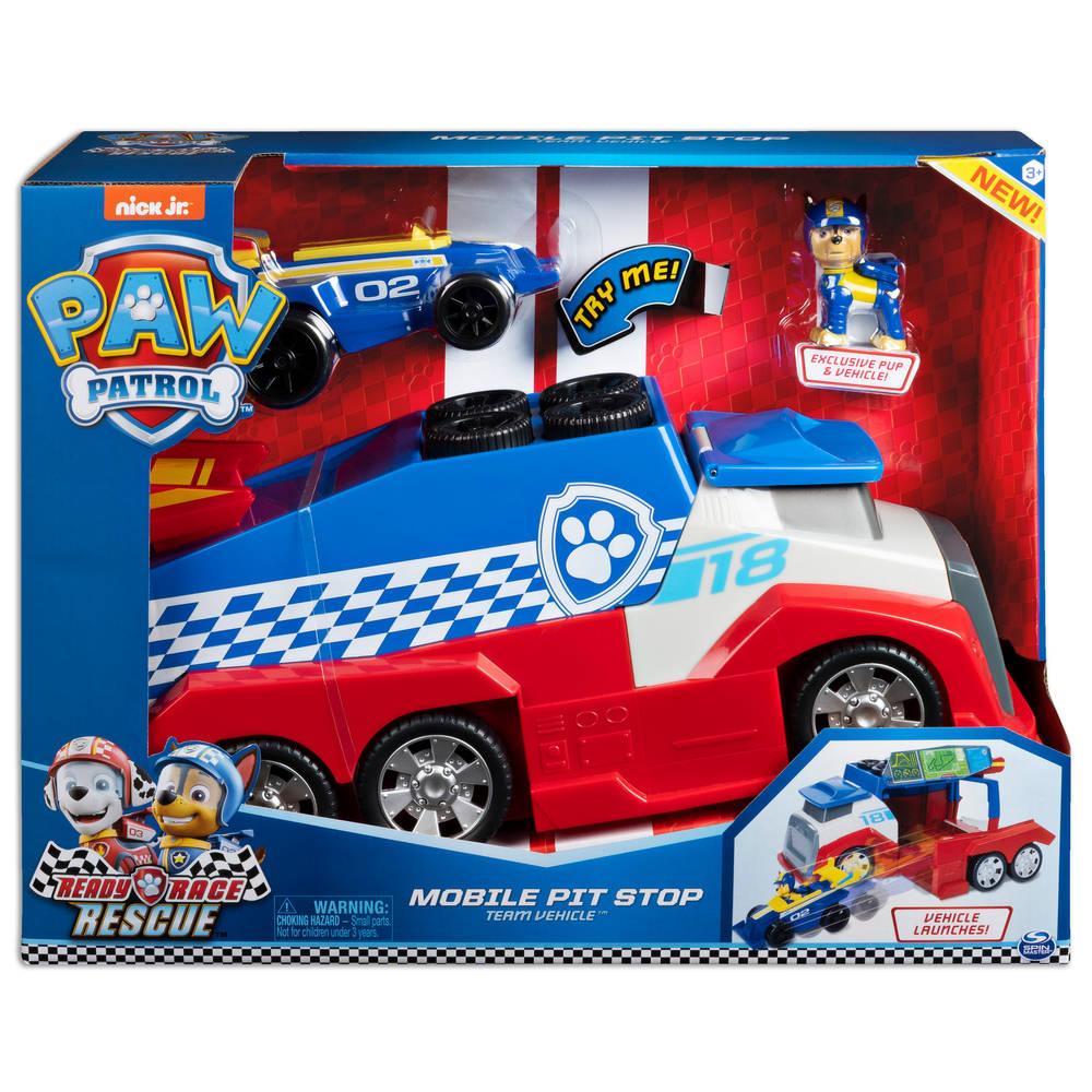 PAW Patrol Ready Race mobiele pitstop