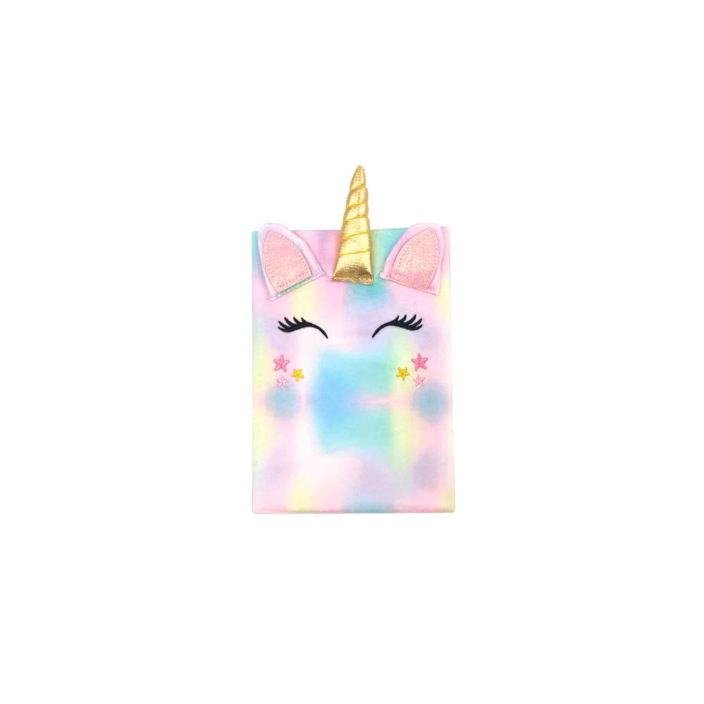 Little Concepts pluche Unicorn notitieboek