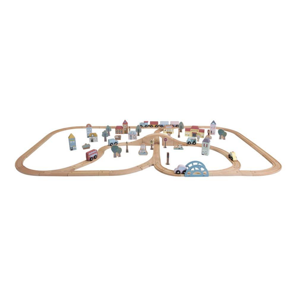 Little Dutch Little Railway Collection treinbaan XXL starterkit