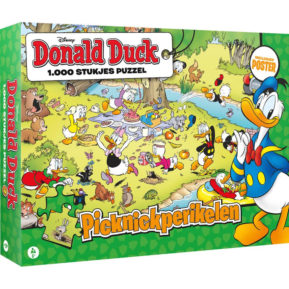 Donald Duck puzzel picknickperikelen - 1000 stukjes